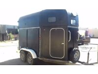 Olympic horse trailer