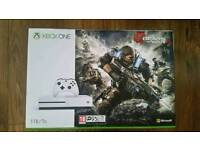 Xbox one s 1tb gears of war 4 bundle brand new still sealed In Box (£250 )