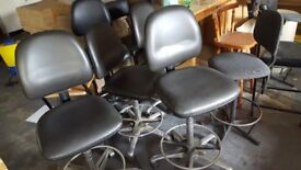 Stools mixed styles 10 in total