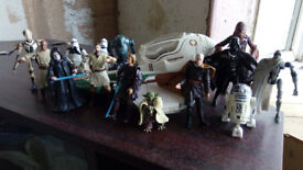 Starwars Ship and Figures