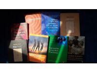 Eight Social Work Degree Study Books