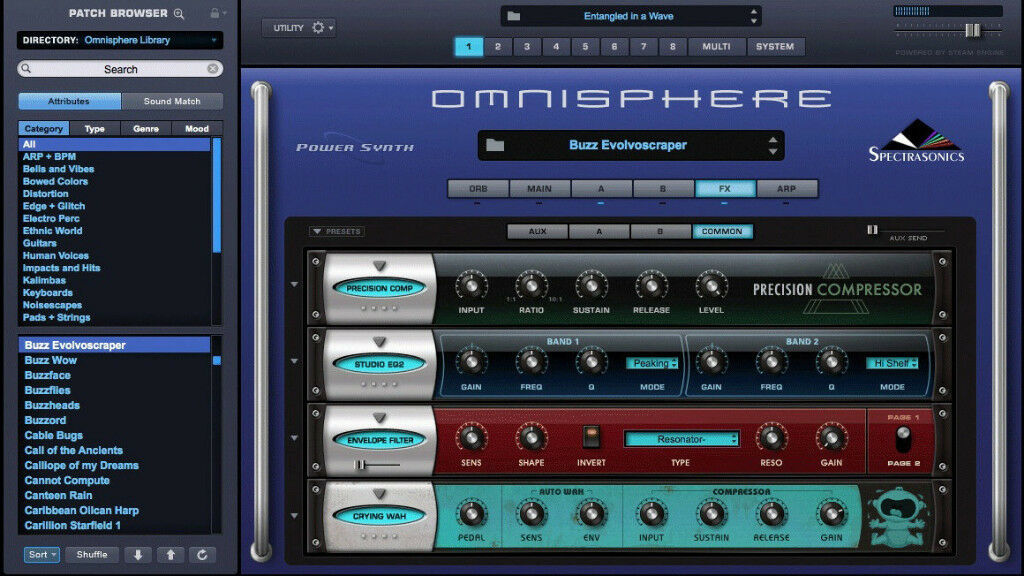 SPECTRASONICS OMNISPHERE 2.4 (PC MAC)