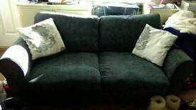3 seater sofa bed and 2 seater