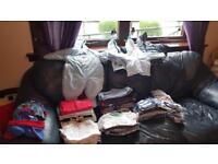 Large bundle of boys clothes 3-6 months
