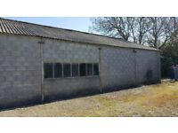 WANTED Land/ Workshop/ Barn To Rent