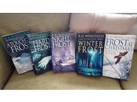 R.D. WINGFIELD 5 BOOKS BUNDLE PAPER BACK FORMAT FROST COLLECTION