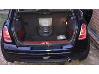 "Kenwood 12"" sub woofer and amplifier"