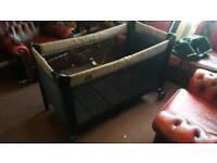 Babydan fold up travel cot