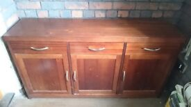 Solid wood tv cabinet and sideboard