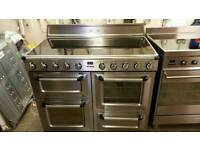 110cm smeg range cooker induction reconditioned cooker