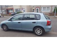 Honda Civic Max - Only one previous owner