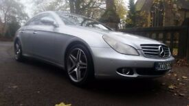 2006 MERCEDES CLS 320 CDI 106000 MILES FULL SERVICE HISTORY IN MINT CONDITION ALLOYS