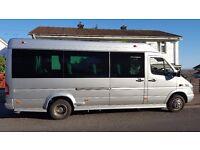 Luxury Executive 13 seat Minibus for hire