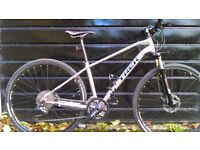 "Trek Dual Sport 8.6 - little used - recently serviced - 17.5"" frame.Would suit 5'6"" to 5'10"""