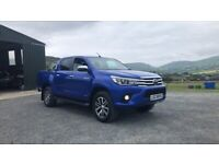Toyota hilux low miles(Peugeot Renault Vauxhall Volkswagen Nissan Ford)