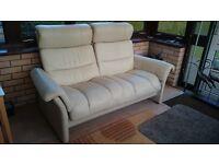 Ekorness Atcanta two seater leather sofa
