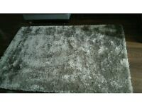 Silver Shimmery Rug from The Range. (needs cleaning)