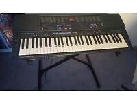 Yamaha PSR600 Electronic Keyboard and Stand