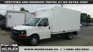 2010 Chevrolet Express G3500 14Ft 4.8L V8 Unicell Box
