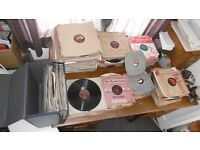 Large collection of pre-war and post-war 78rpm records guessing about 400 - 500 in total