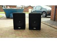 Pair of lightweight but powerful speakers