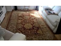 Indian Rug 2600 mm x 1950 mm REDUCED FOR QUICK SALE