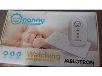 Nanny baby breathing/respiratory monitor