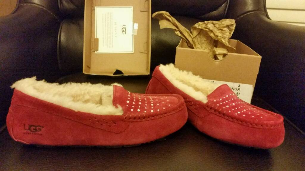 Genuine in box ugg slippers