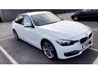 BMW F30 SPORT ALPINE WHITE 320D AUTO LEATHER INTERIOR