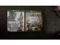 Gta 5 and Mafia 3 for xbox one