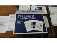 Vintage card games job lot