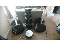 Ddrum diabolo punx double bass drum kit