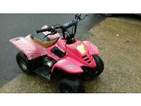 Quad bike 50cc automatic great runner, well used