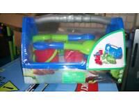 Toy garden set