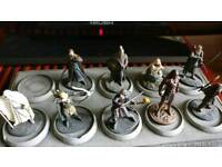 Incomplete Lord of the Rings Eaglemoss Figures Figurines Set