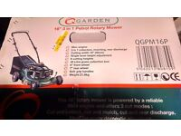 """16"""" 3 in 1 PETROL LAWN MOWER BRAND NEW IN UNOPENED BOX"""