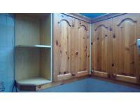 Pine kichen cupboard doors