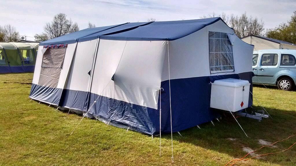 Conway Canterbury Trailer Tent 1993 In Runcorn Cheshire