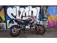 Yamaha wr125x supermoto 2014