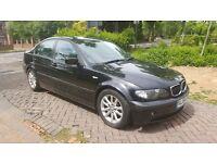 BMW 318D 2 LITRE DIESEL E46 BLACK