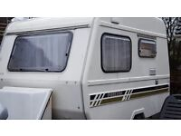Freedom fibreglass caravan lightweight 3 berth 1992
