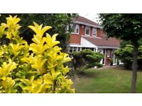 Rooms available in a beautiful 5 bedroomed detached house