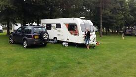 Bailey unicorn Cadiz 2013 4 berth top of the range touring caravan