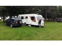Bailey unicorn Cadiz 2013 4 berth luxury caravan