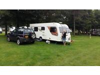 Bailey unicorn Cadiz 2013 4 berth top of the range touring caravan