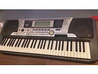 Yamaha PSR-550 Electric Keyboard - Collection Only.