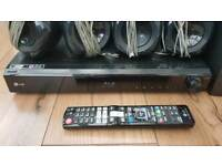LG surround sound cinema system DVD blue ray player