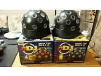 Led Disco Lights ADJ tri led balls