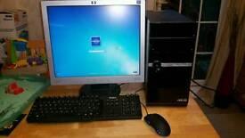 Custom ASUS gaming PC -excellent