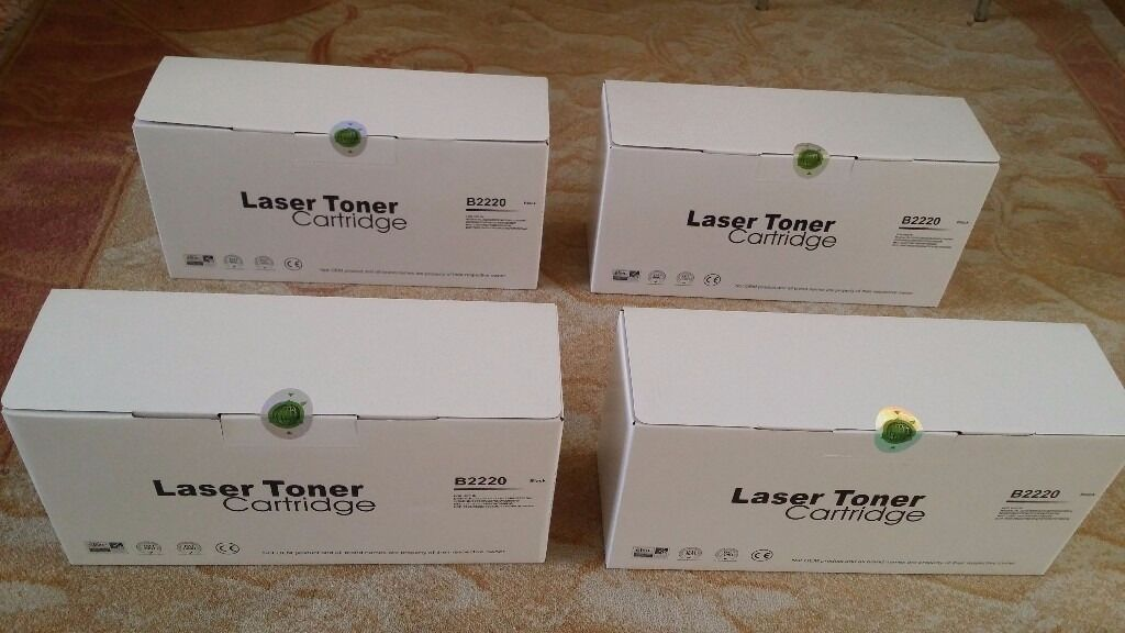 4x BRAND NEW Black TN-2220 Cool Laser Printer Toner/Cartridge Compatible 4 Brother HL-2220 2230 2240